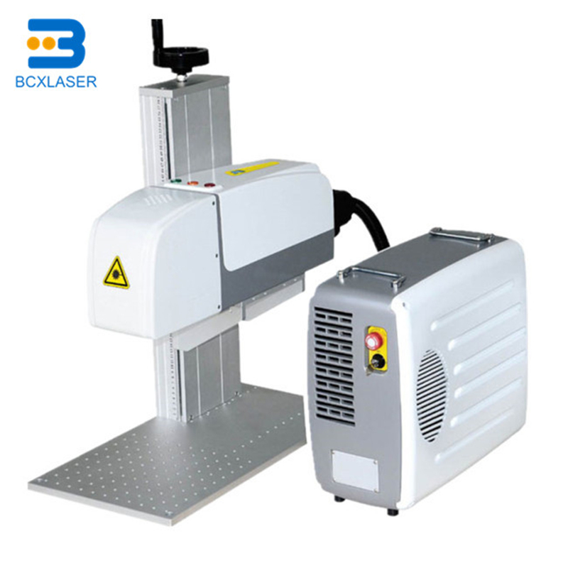 IPG 20w Rotary Laser Marking Machine 3D Fiber Laser Marking For Packinghouse