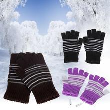 5 В USB Powered Для мужчин Для женщин нагрева с подогревом зимой руки теплые перчатки моющийся зима Садовые перчатки
