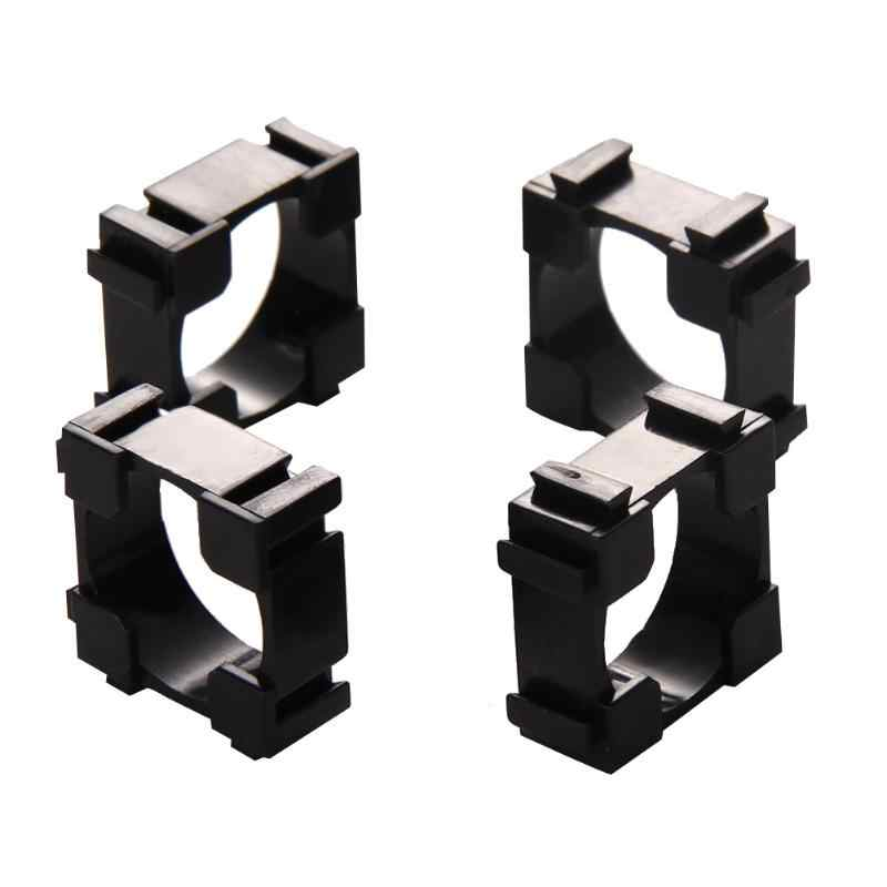 100pcs/lot 18650 Battery Holder Bracket Cylindrical 18650 Case Cell Holder Safety Anti Vibration Li-ion Battery Holder Plastic
