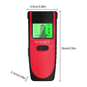 Image 5 - 4 In 1 Metal Detector Metal Wood Studs AC Voltage Live Wire Detect Wall Scanner Electric Box Finder Wall Detector Wall Scanner