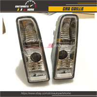 For Lexus Bulb 2Pcs 1998 2002 Clear LX470 for Fog With Lens Car styling Lamp Light Front