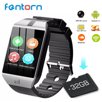 Fentorn QW09 Smart Watch Men Android 4.4 MTk6572 512MB+4GB 3G wifi Bluetooth Smartwatch MP3 player Weather for Android iOS phone