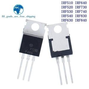 Image 1 - 10 قطعة IRF510 IRF520 IRF530 IRF540 IRF630 IRF640 IRF730 IRF740 IRF830 IRF840 الترانزستور إلى 220 TO220