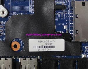 Image 4 - Genuine 641487 001 w HD6490/1G Scheda Grafica HM65 Scheda Madre Del Computer Portatile Mainboard per HP Pavilion DV6 DV6 6000 Serie noteBook PC