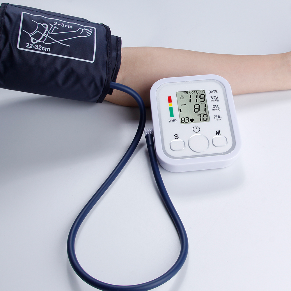 Digital Blood Pressure Monitor Medical Equipment Automatic Upper Arm Pulse Oximeter Home LCD Screen Memory Mode Tonometer yuwell automatic blood pressure monitor electronic household medical equipment digital lcd upper arm blood pressure