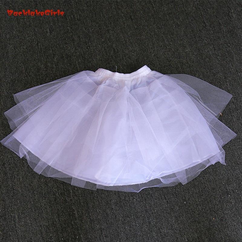 Bridal Slip Hotsale Ivory Petticoat 2019 Women Mesh Petticoat Girl Dress Petticoat / Child Crinolines/Underskirt