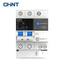 цена на CHINT Earth Leakage Miniature Circuit Breaker Overload Protection NB6LE-32 2P Series Household Air Switch 16A 20A 25A 32A