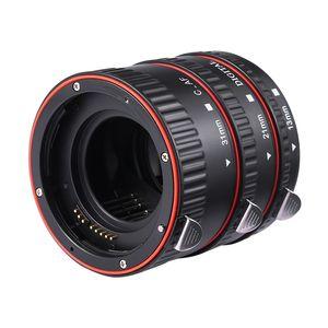 Image 3 - Andoer צבעוני מתכת TTL פוקוס אוטומטי AF מאקרו Tube הארכת טבעת עבור Canon EOS EF EF S 60D 7D 5D השני 550D אדום הארכת צינור