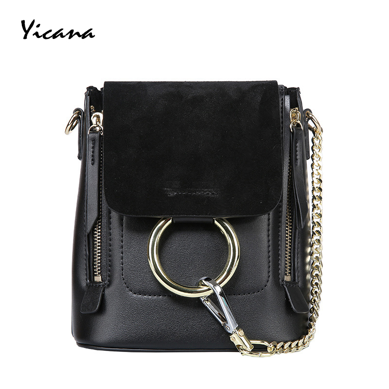 Yicana 2018 Summer 5 Colors Genuine Leather women shoulder Bag Multipurpos Fashion  Messenger Ring HandbagYicana 2018 Summer 5 Colors Genuine Leather women shoulder Bag Multipurpos Fashion  Messenger Ring Handbag