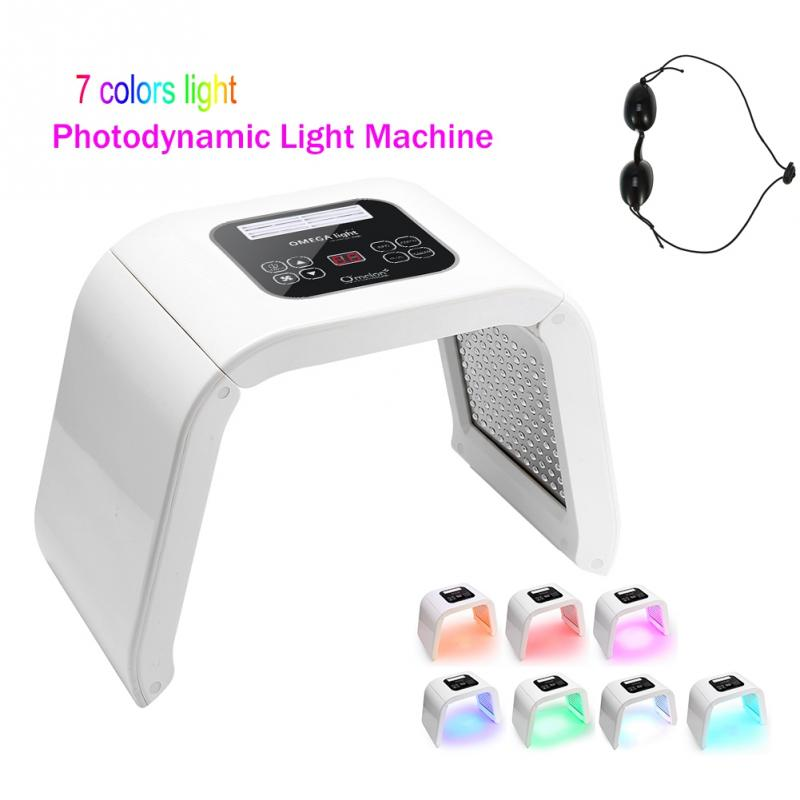 Professional Photon PDT Led Light Facial Mask Machine 4 Colors Acne Treatment Face Whitening Skin Rejuvenation Light Therapy