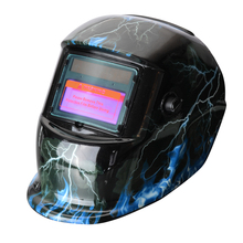 1PC Solar Auto Darkening Welding Helmet PP Welder Goggles/Mask/Cap with 5PCS Replacement Lens for Machine