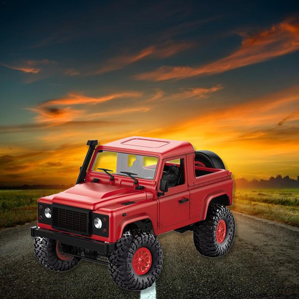 KIT de voiture télécommandé modèle RC voiture jouet pour Land Rover Defender MN91 D91 Land Rover Jeep camionnette