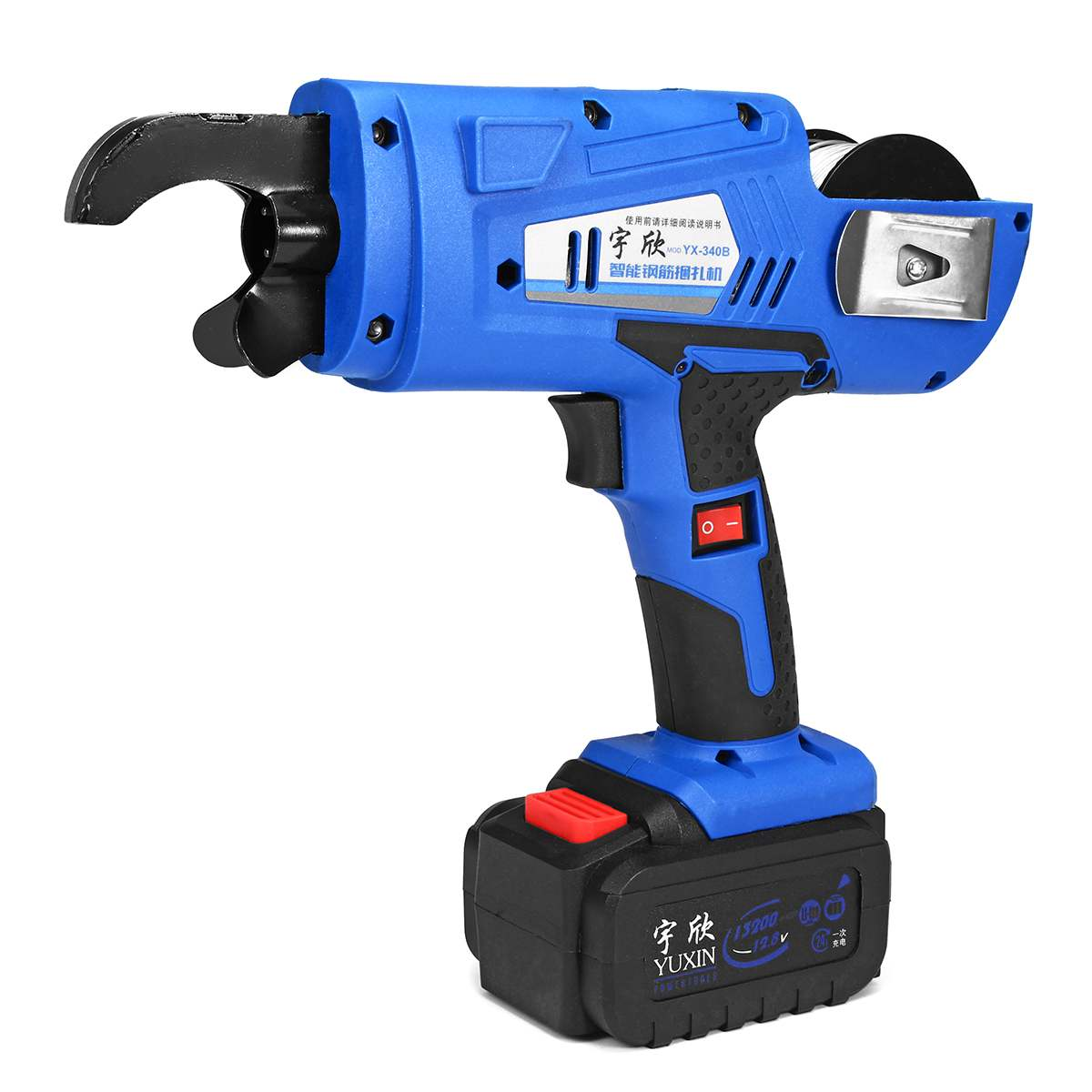 Automatique De Poche Barres D'armature Niveau machine à attacher perceuse électrique Renforcer cerclage en acier Multifonction Outils Électriques 8mm-34mm