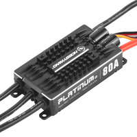 Hobbywing Platinum Pro V4 120A /80A 3 6S Lipo BEC Empty Mold Brushless ESC for RC Drone Quadcopter Helicopter F17830/31