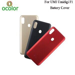 Image 1 - ocolor For UMI Umidigi F1 Battery Cover 6.3 Hard Bateria Protective Back Cover Replacement For UMI Umidigi F1 Play Phone Cover