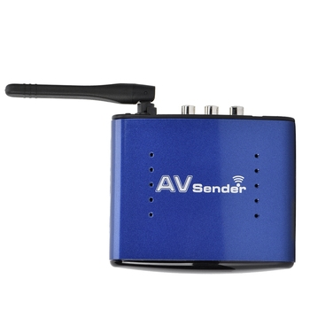 5.8GHz High Sensitivity Wireless AV Sender For Phone DVD Player Wireless Audio Video Transmitter and Receiver