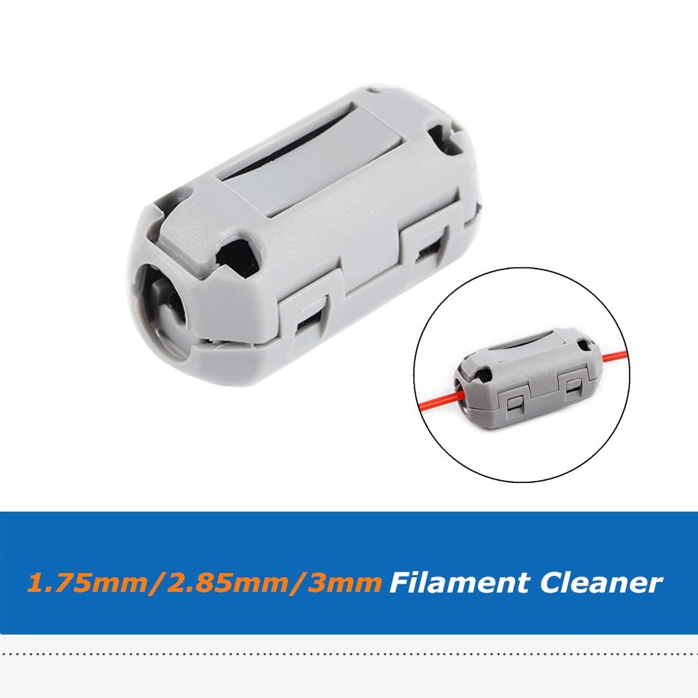 1 Pc 1.75mm/2.85mm/3mm Filament Filters Cleaner Blokken Vlam Slip Rubber Foam Afgeveegd Pla/abs/petg Puin Voor 3d Printer Om Een Ongewoon Uiterlijk Zeker Te Stellen
