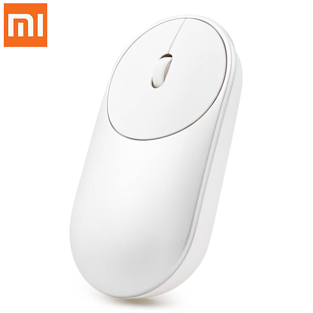 Original Xiaomi Portable Mouse With Bluetooth 4.0 / 2.4G Dual Mode 1200DPI