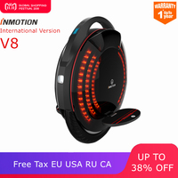 Inmotion SCV V8 one wheel self balancing scooter smart electric build in handle adjustable EUC hoverboard skateboard unicycle