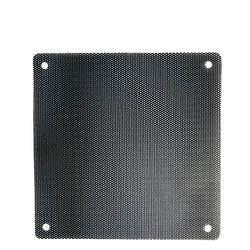 5 шт./лот 120 мм черный ПВХ ПК пылезадерживающий фильтр для вентилятора пылезащитный чехол компьютер сетки пыли Чехлы для мангала