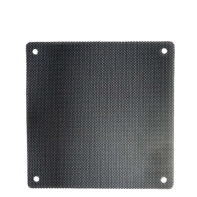 5PCS/lot 120mm Black PVC PC Fan Dust Filter Dustproof Case Computer Mesh Dust Covers