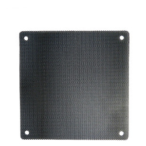 5PCS/lot 120mm Black PVC PC Fan Dust Filter Dustproof Case Computer Mesh Dust Covers