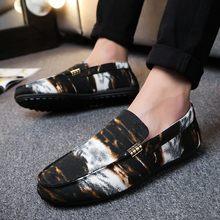 d31ba8aa19bef Hot Sale Velvet Loafers Men Shoes Men's Flats Male Slip-On Driving Shoes  Large Size Soft Comfortable Designer Loafers Moccasins
