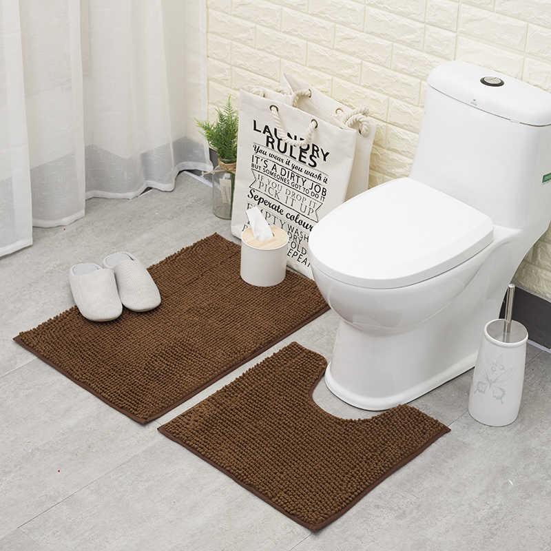 Anti Slip Bathroom Floor Mat Sets