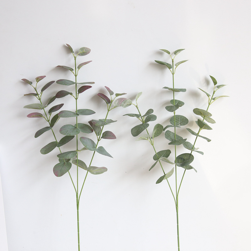 Money Leaf Ins Nordic Eucalyptus Artificial Flowers Manufacturer Home Decoration Wedding Plant Wall