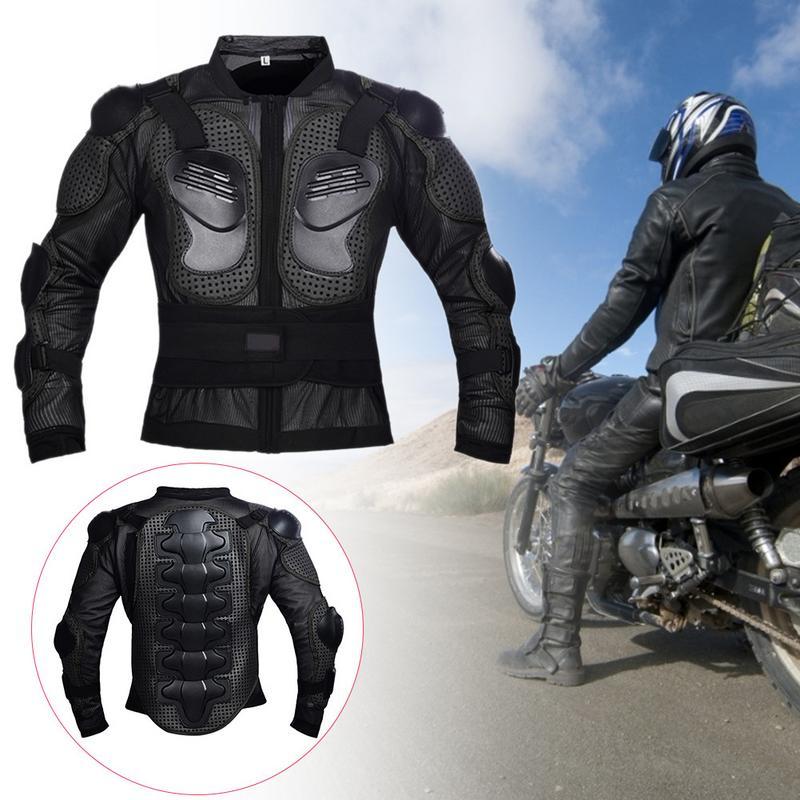 Moto Full Body Armatura Jacket Spina Dorsale Toracica Protezione Della Spalla Giacca A Cavallo Del Cambio Da Corsa Cappotto