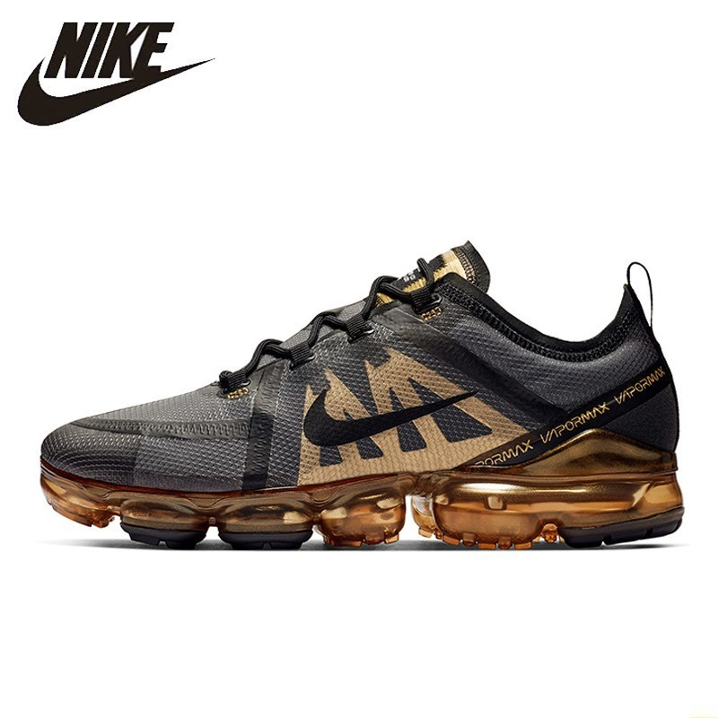 Nike AIR VAPORMAX 2019 Men Running Shoes Will Air Cushion Bradyseism Wear-resisting Comfortable Breathable Sneakers  #AR6631-002