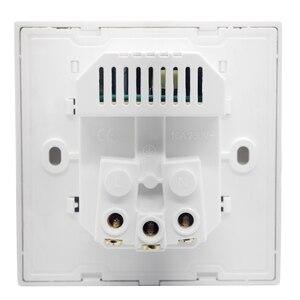 Image 3 - 2A デュアル USB ポート壁の充電器アダプタ充電壁の充電器アダプタ EU プラグ 86 AC 電気電源ソケット電源コンセント白