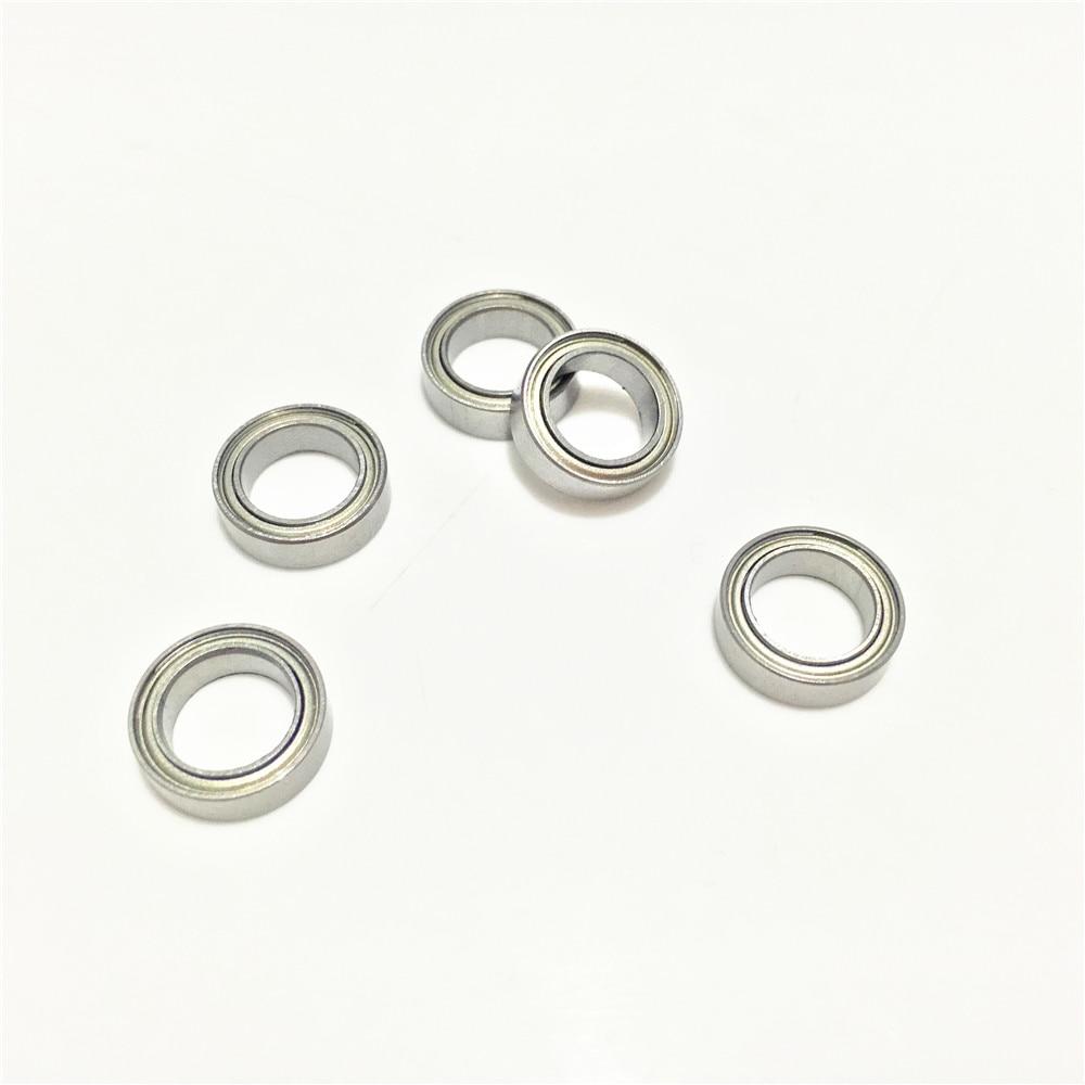 10-50pcs Miniature Model Bearing MR52ZZ to MR149ZZ Metal Shield Ball Bearing