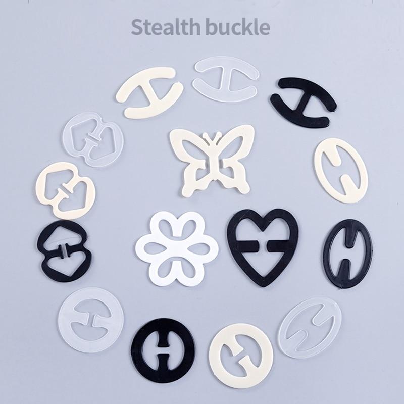 3Pcs//set Shadow Bra Clip Stealth Fashion Bra Buckles Underwear Fasteners HOT