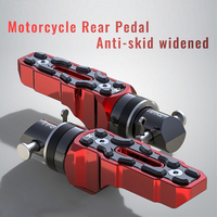 Universal Motorcycle Rear Pedal Anti skid Widened Pedal Motorbike Accessories for Huanglong 300 BN600
