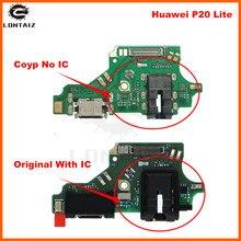 цены на New Micro Dock Connector PCB Board For Huawei P20 Lite USB Charging Port Flex Cable Board Replacement Parts  в интернет-магазинах