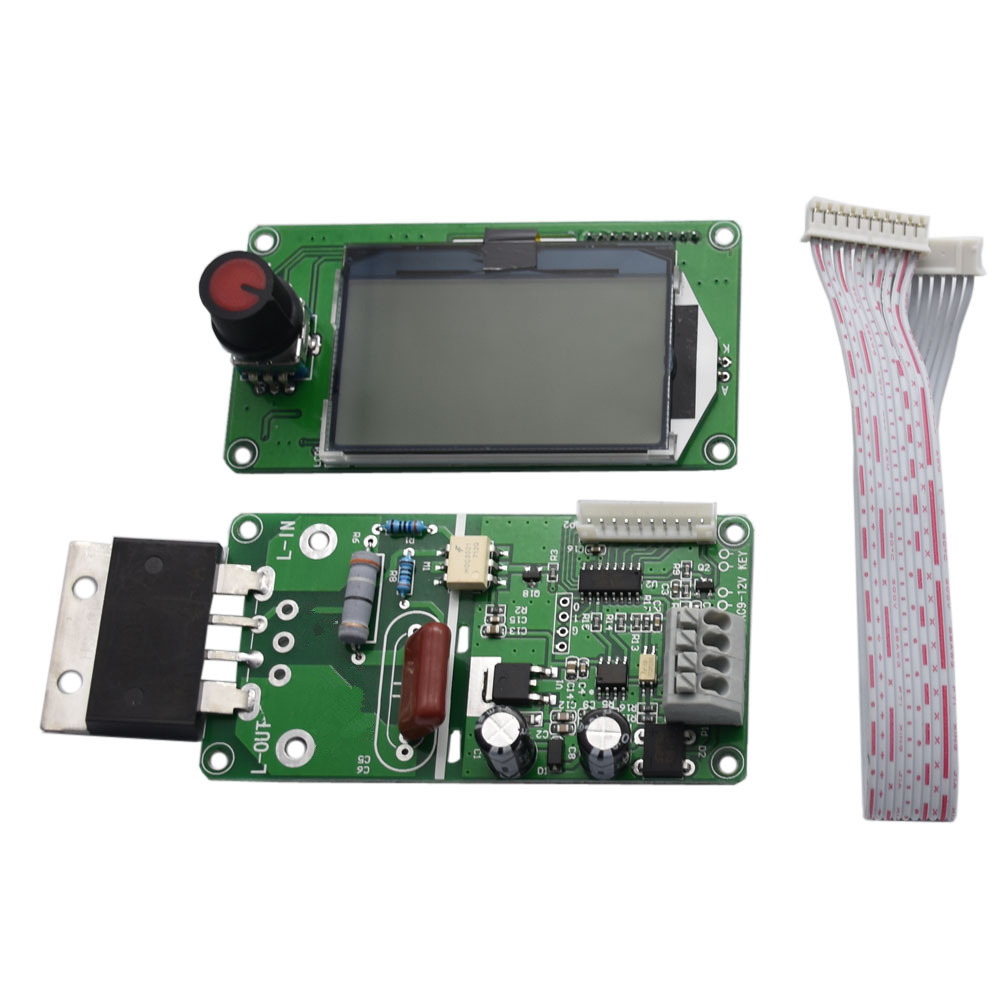 100A LCD Display Digital Double Encoder Spot Welder Welding Machine Transformer Control Module100A LCD Display Digital Double Encoder Spot Welder Welding Machine Transformer Control Module