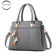 Lady Simple business Style Hand Bags Tassel Pu Leather Totes Bag Women Handbag Top-handle Embroidery Crossbody Bag Shoulder Bag fashion women handbags tassel pu leather totes bag top handle embroidery crossbody bag shoulder bag lady simple style hand bags
