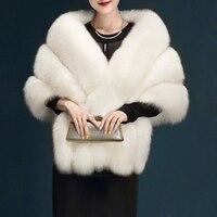Christmas Gifts Women Furry Faux Fur Scarf Shawl Warm Large Scarves Cape Winter Warm Scarf Fashion Streetwear