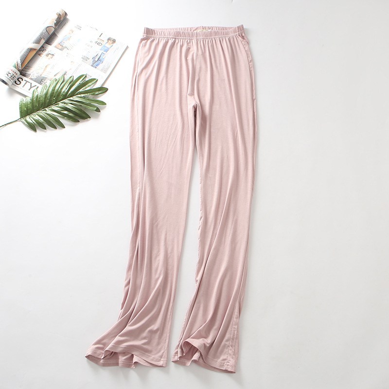 2019 Women's Trousers Modal Spring Autumn Bottom Loose Sleep Pants Ladies Pajama Pant Bottoms Female Leisure Home Pants