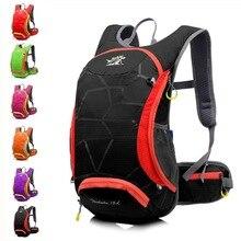 Купить с кэшбэком 15L Ultralight Cycling Backpack Hydration Bicycle Rucksack Waterproof Sport Outdoor Travel Bags for Men Women Water Hiking Pack