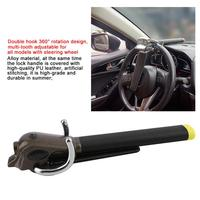 Foldable Vehicle Car Lock Top Mount Steering Wheel Lock Anti-Theft Security Airbag Lock with Keys Hex Wrench Car Lock Devices