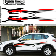Fire Totem Decoration Auto Vinyl Stickers Car Decals Diy Modified Sportive Glue Sticker Waterproof