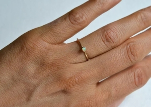 Изысканная Золотая круглая белая кольцо с опалом для женщин невесты, изысканные свадебные ювелирные изделия для помолвки