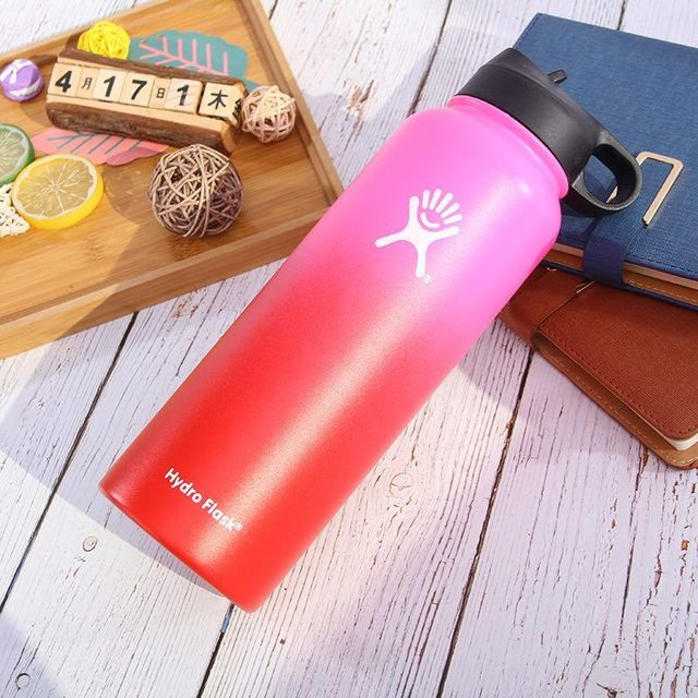 Vacuum Bottle Stainless Steel Hydro Flask Wide Mouth Water Bottle