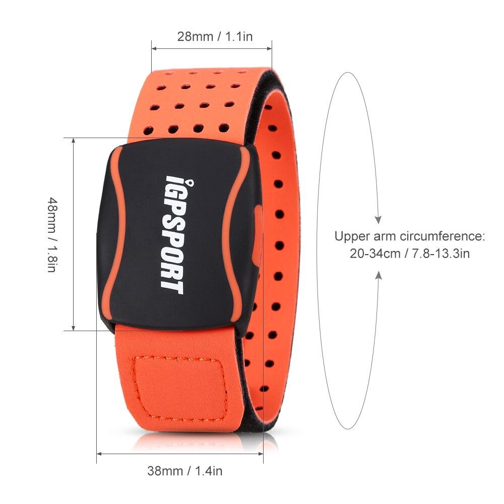Bracelet de sport capteur sensible à la fréquence cardiaque bras sangle coeur Rater moniteur intelligent en cours d'exécution sport Fitness Tracker bande de fréquence cardiaque - 5