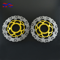 Motorcycle 320mm Floating Disc Left Right Brake Discs For HONDA CBR1000RR CBR 1000RR 2006 2007 VTR SP1 SP2 RC51 SC45 1000CC