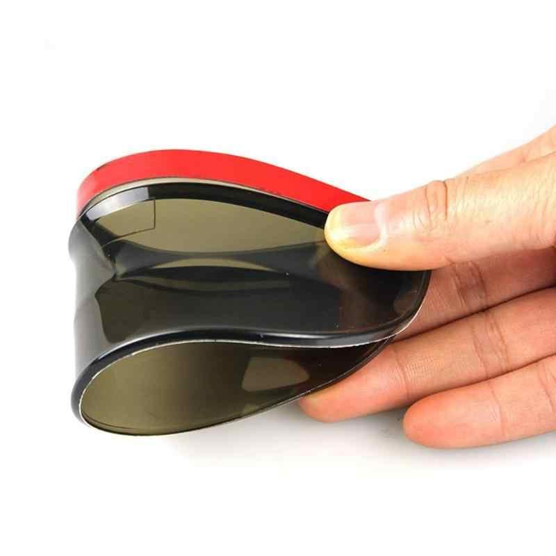 VODOOL 2 chiếc Đa Năng Gương Chiếu Hậu Mặt Gương Rainboard Áo Chống Nắng Trời Linh Hoạt Tấm Bảo Vệ Xe Ô Tô, Xe Tải SUV.