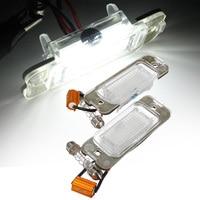 Car License Plate Light Lamp New 18 SMD LED White Color Light Licence Plate Light 12V For Mercedes For Benz w164 ML 2006 2009|License Plate| |  -