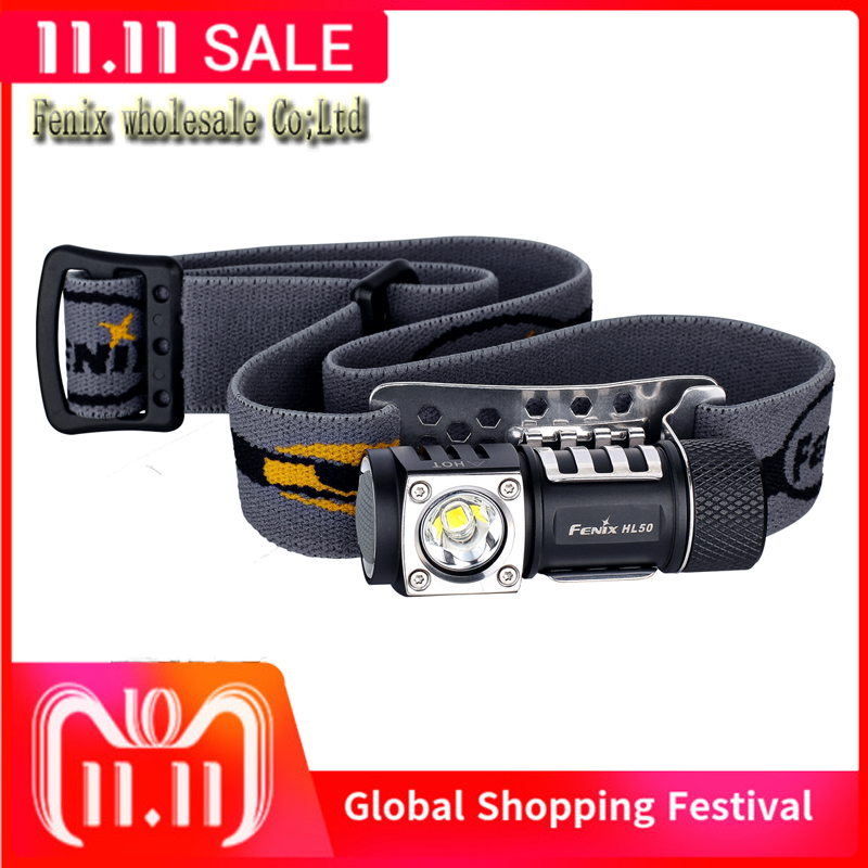 New Fenix HL50 Headlamp 3 Mode Strong Multi Purpose Free shipping CREE XM L2 T6 LED